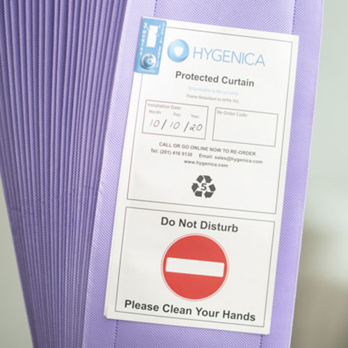 Hygenica Antimicrobial Disposable Curtains
