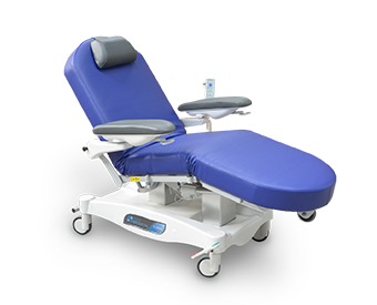 Clavia FCD Chemo & Dialysis Treatment Trolley Chair